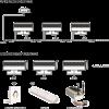 DMX Flood light wired or wi-fi control