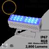DMX Flood Light 50W RGB 2800 lumens white IP67