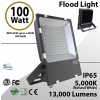 LED Flood lights 100W 13000 Lm 5000K IP65 UL DLC