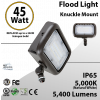 45W LED Floodlight 5400Lm 5000K IP65 UL DLC