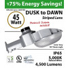 45w LED Dusk to dawn light 4500 Lumens 5000K natural white