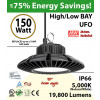 150 Watt LED 700w Halogen Replacement 19800 lumens 110V