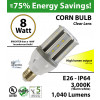 23 Watt CFL LED Light Bulb Equivalent 8w 3,000k 1,040Lm