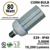 350 Watt LED Replacement Light 80w Corn Bulb 10200Lm 5000K