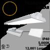 High Bay LED Light 2Ft. 90W 12001 Lumens 5000K UL DLC