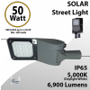 Solar Street Light 50W 6900Lm 24V 5000K