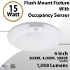 Stair Lights Fixture with Occupancy Sensor 15W 1050Lm Tunable