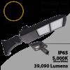 Street Light Parking Lot Light 300W 39090Lm 5000K UL IP65 DLC