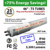 LED T5 Tube 25W Frost 3300Lm 4000K Bal Comp NCF Safe Case of 25