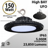 UFO LED Light High Bay 150W 23850 Lumen 5000K UL & DLC
