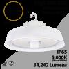 UFO Light LED High Bay 240W White Optional Motion Sensor 34242Lm 5000K