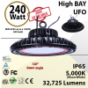 1000 Watt hid Replacement with 240W LED UFO light 5000K