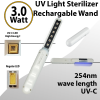 UV Light Sterilizer Wand 254nm 3W portable to End Virus and Bacteria