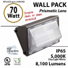 70w LED Wall Pack Light Photocell Fixture with Sensor