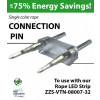 Connection Pin for single color rope light (ZZS-VTN-08007-32)