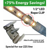 "1/2"" LED Rope Clip for ZZS line"