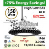 150 Watt LED 700w Halogen Replacement 19300 lumens 110V
