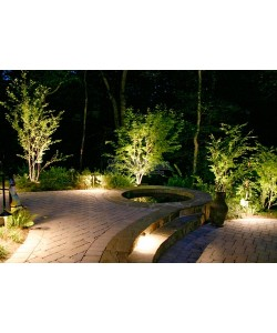 100W LED Landscaping Circular Area Light 9800 Lm 5300K