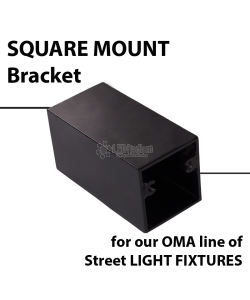SQUARE Mount bracket for OMA-GWE/GNE Series