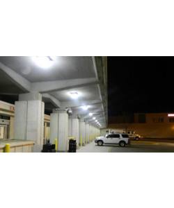 LED Gas Station Canopy Light 150W 19974 Lumens UL and DLC