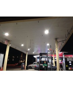 LED Canopy Light for Gas Station 150W 19974 Lumens UL and DLC