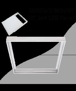 Surface mount aluminum Kit for Panel 2x4