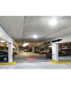 LED Garage Light | 55W 5000K 6416 Lumens