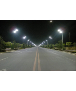 150W LED Shoebox Street Light fixture 100-277 VAC 21700Lm 5000K ETL DLC