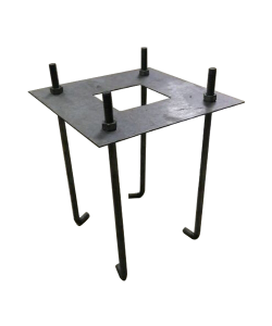 "Anchor Bolt Kit 4 pcs for Steel or Aluminum Pole 20"" x 0.79"""