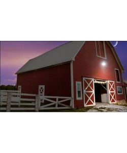 LED Yard Light LED Barn Light w/Photocell Control 55W 6703 Lumens