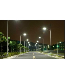 Solar Street Light 30W 4800Lm 12V 30AH Microwave Motion sensor and panel included