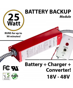LED Emergency Driver 25 Watt for LED with external driver