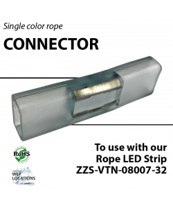 Connector for single color rope light (ZZS-VTN-08007-32)