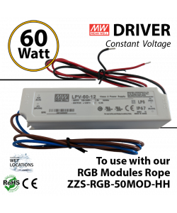 Driver for RGB Controller for storefront LED lights