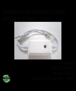Wired driver for multi color rope light (ZZS-VTN-08007-MC)