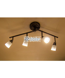 T10 4W LED Filament 280 Beam Angle 2700K 400 Lumens E26 DIMMABLE