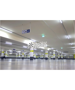 18W LED Tube 1 Sided 4ft PC 5000K 1800 Lm Non-Dimmable Frosted
