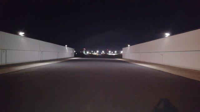 Fly CPA hangars illumination 54 watts LED corn bulb light