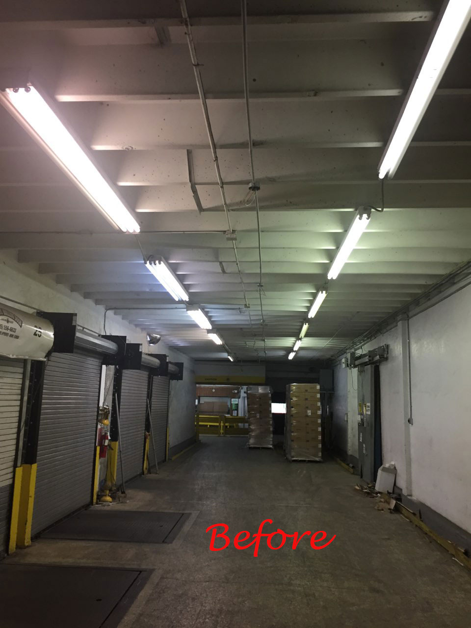 Miami Cold Store Before and After