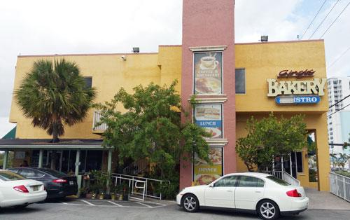 Hollywood Florida Giorgio Bakery 8w LED corn bulb light