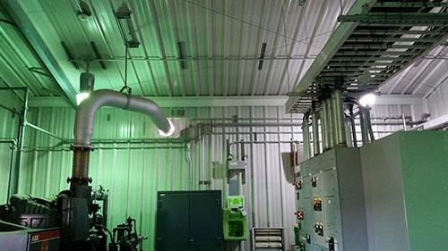 Kindermorgan Compressor Room