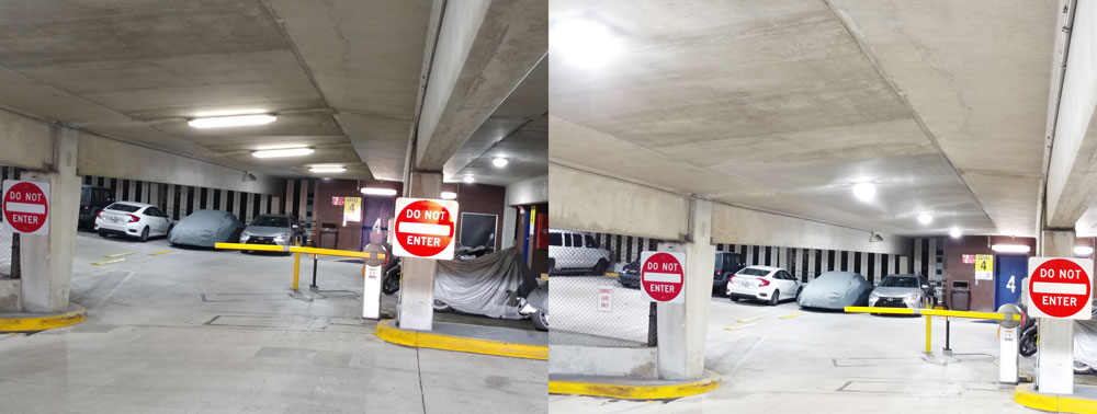 Miami Parking authority Before and After
