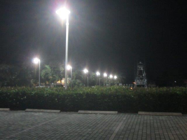 Marco Island Marina LEDRadiant  45w LED corn bulb lights