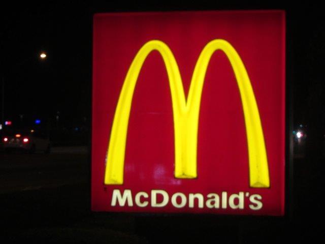 McDonalds Sign LEDRadiant 18w led tube light