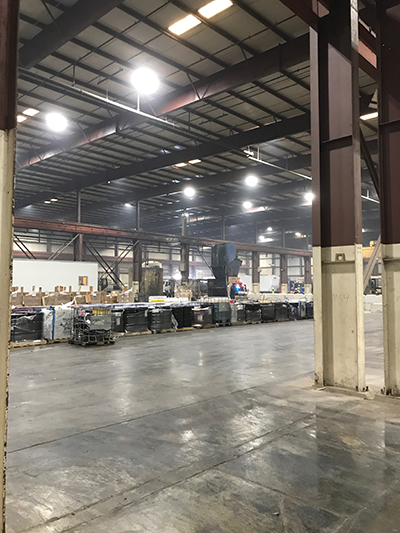 Lighting Warehouse with LED High Bays from LEDRADIANT