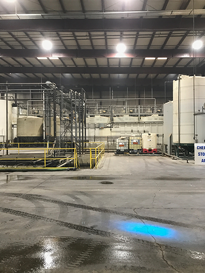 LED High Bay Lights at Covanta Indianapolis