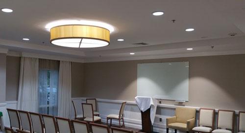 Re-lighting of Hampton inn, Hallandale Beach