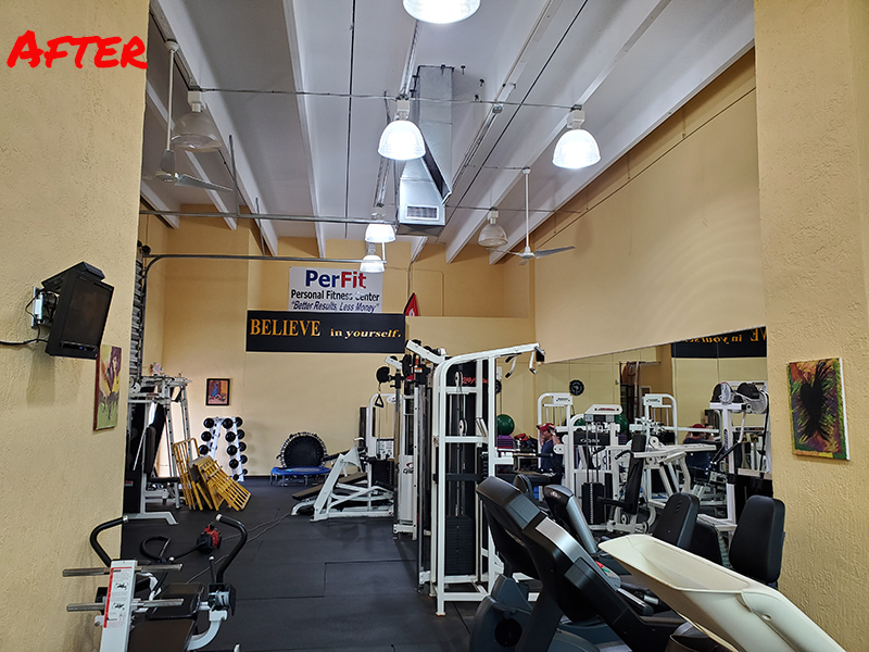 Perfit Hollywood Gym to LED